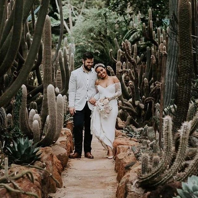 @yinmccann wearing our Unity Gown ✨🌵 📸: @bonniejenkins
