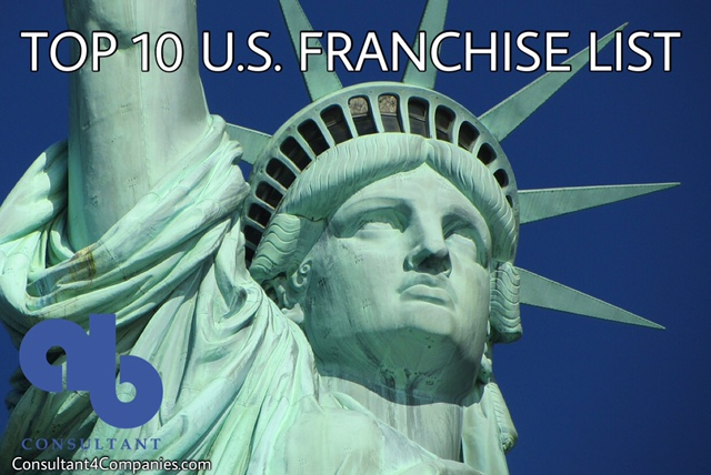 Top 10 us franchise