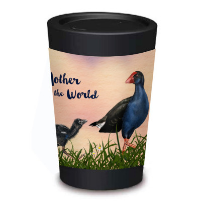 1. Pukeko Mother's Cuppa Coffee Cup