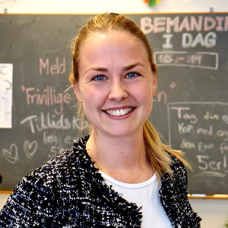 Rebecca Ingemann Madsen. Jurastuderende og spidskandidat til universitetsbestyrelsen for Studenterrådet
