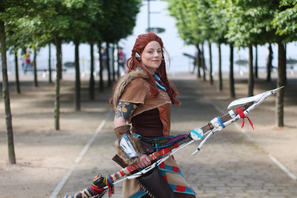 GingerSnap - Aloy, Horizon Zero Dawn