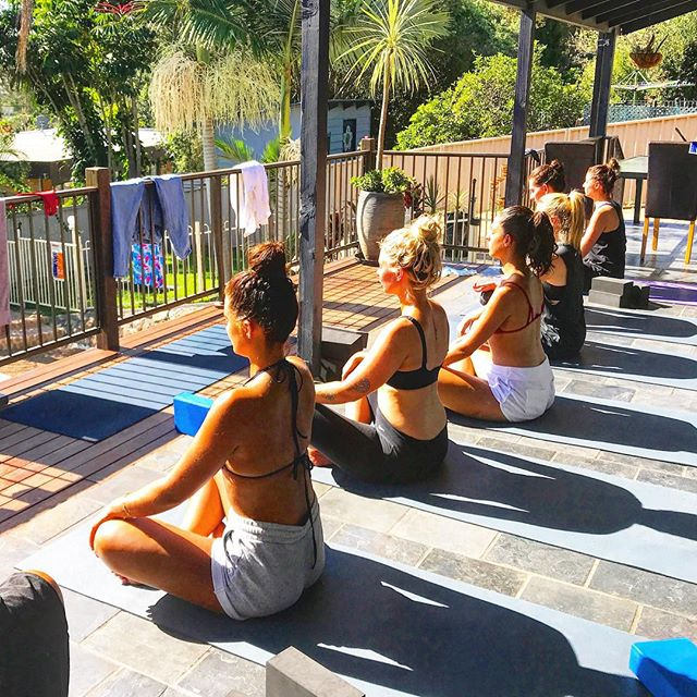 Time to catch up with the girls? Book your own private yoga class!! . My Saturday 8AM spot for a Private Yoga Sessions has just become available for the next 2 weeks.. it's usually booked out every Saturday! Hop online to snap up this session at www.yogawithcj.com xx .  #thisisthecentralcoast #yoga #privateyogasessions #retreat #avoca #terrigal #centralcoast