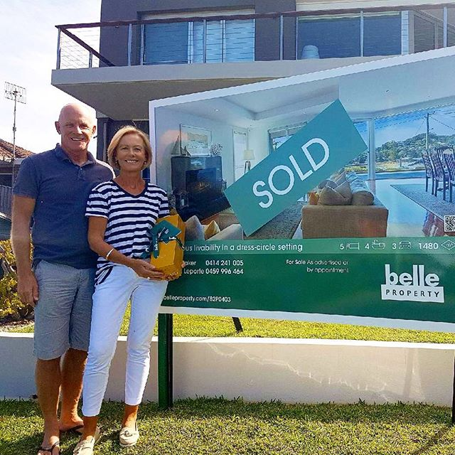 This makes me so happy to see this lovely family move on to their next home and create the lifestyle they desire 🙏😃 We hit the Street Record for this sale on this beautiful Warren Ave home in Avoca Beach!! Yes @bellepropertykillcare !! 🍾🥂