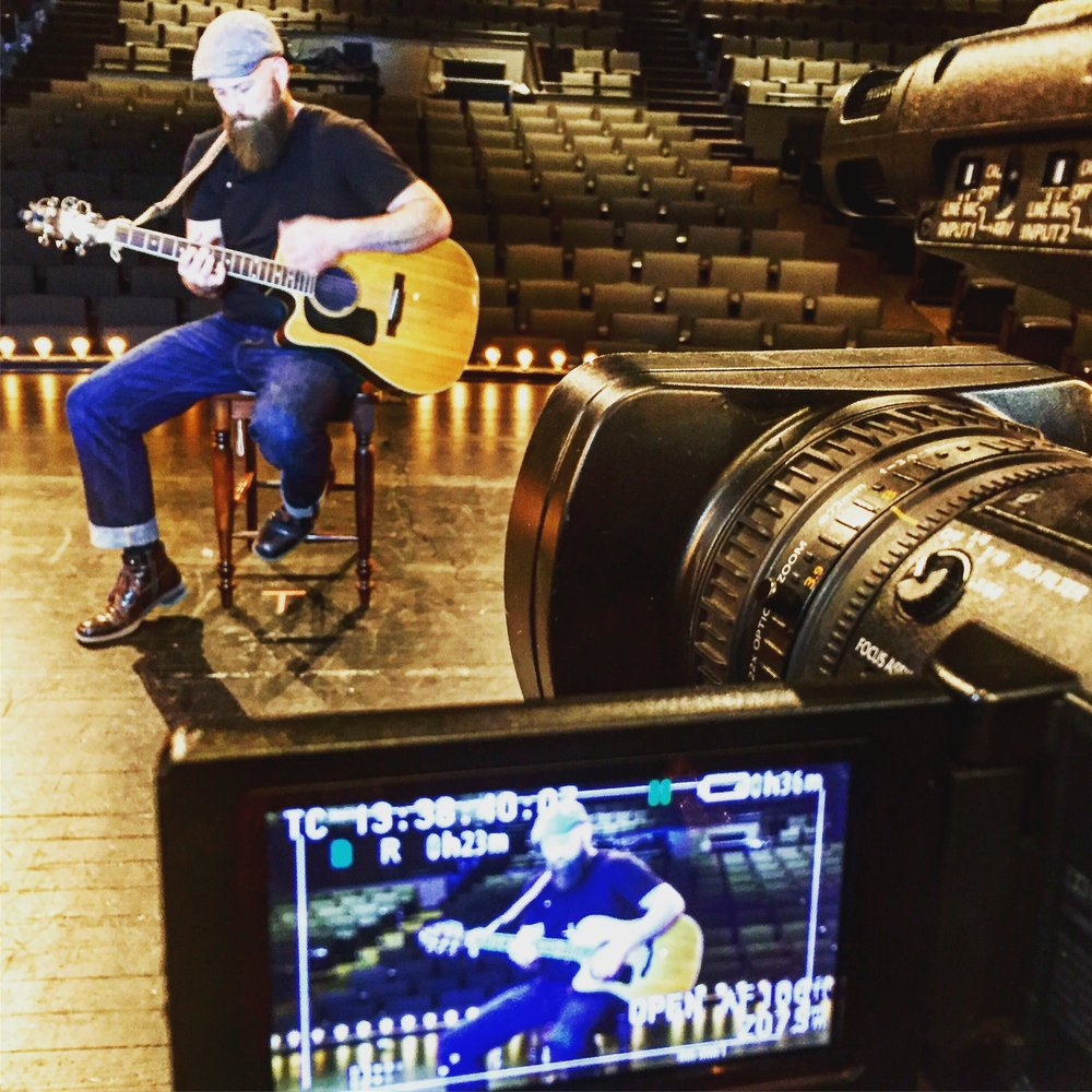 "Anthony Wayne was a recent guest on  Eastern Kentucky TV's Mountain Music . Check out the exclusive interview with Shawn Allen and Anthony's touching performance of ""I Will Rise,"" from the recently released CD, BURY WHO WE ARE."