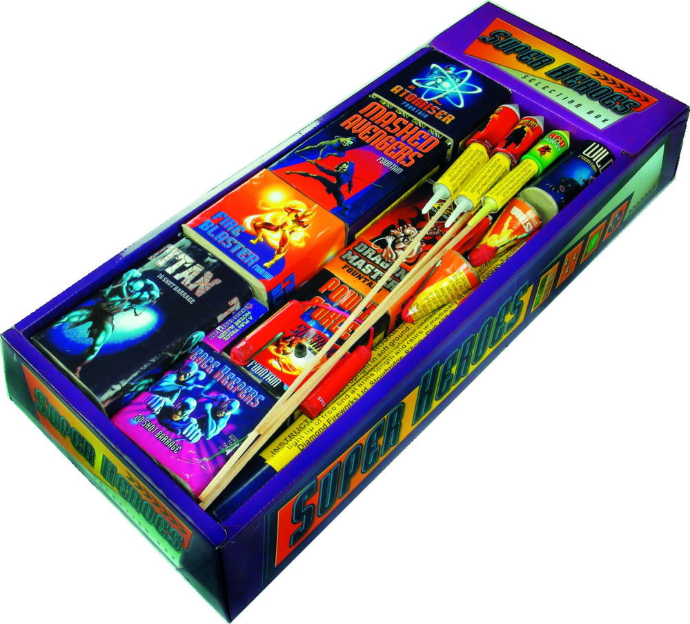 Super Heroes Selection Box - RRP £94.99