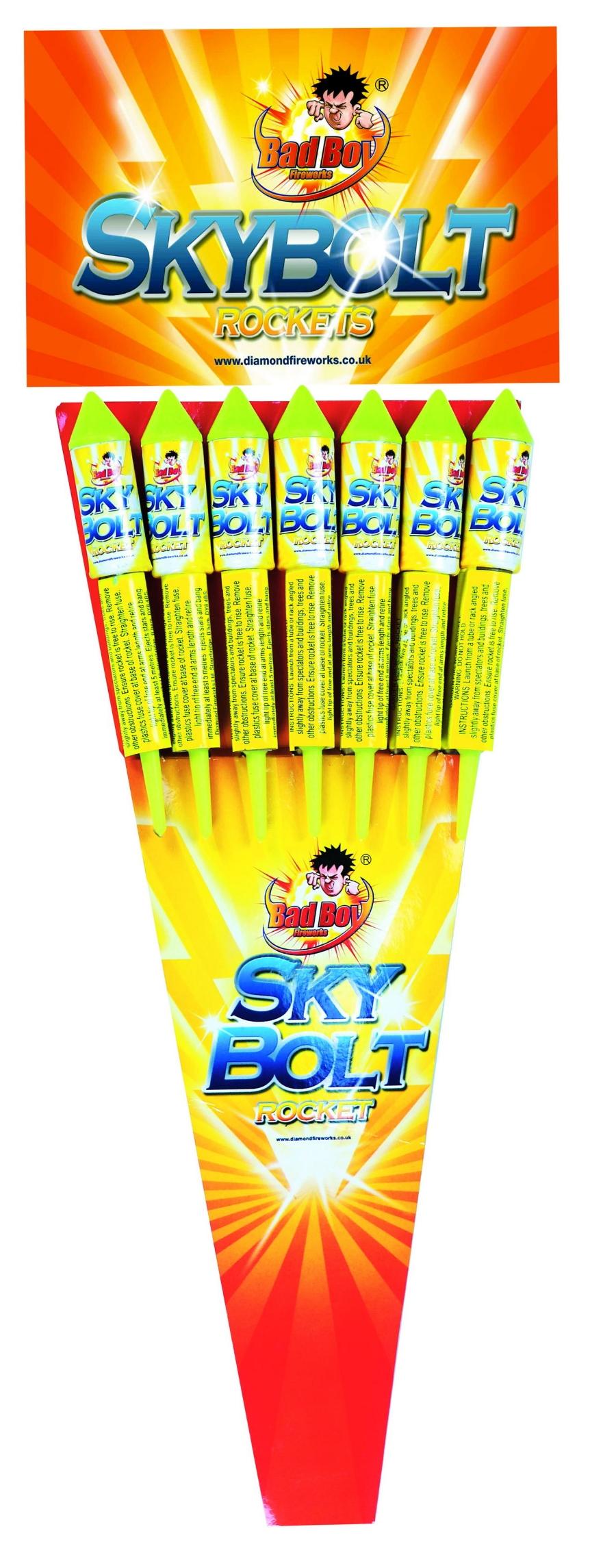 Skybolt Rockets 7pk - RRP £11.49