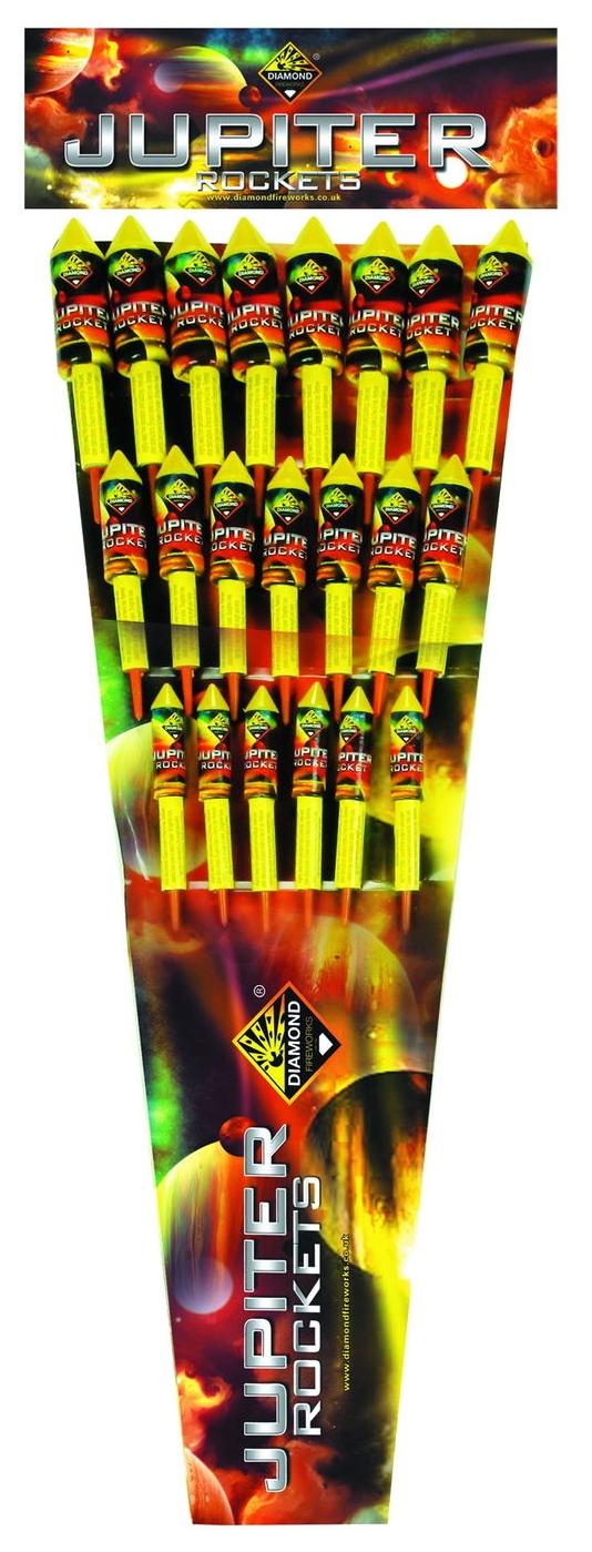 Jupiter Rockets 21pk - RRP £60.00