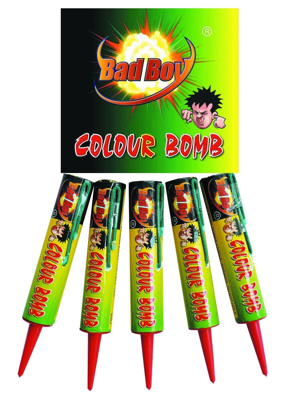 Colour bomb 5pk - RRP £4.49