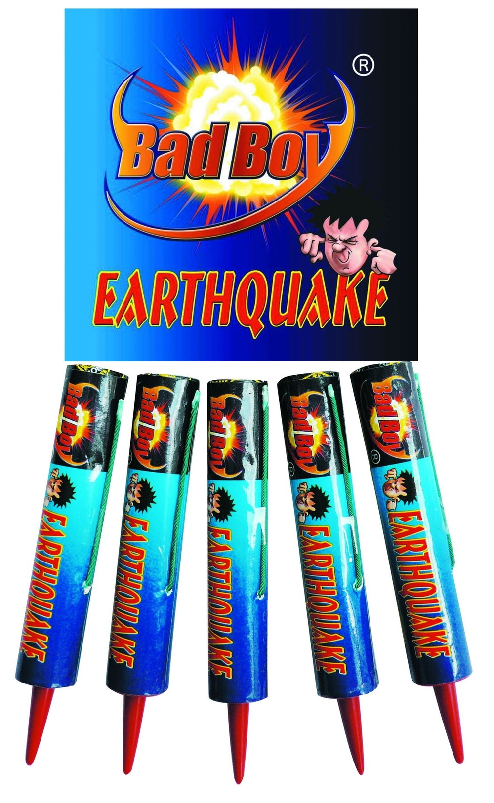 Earthquake 5pk - RRP £5.99