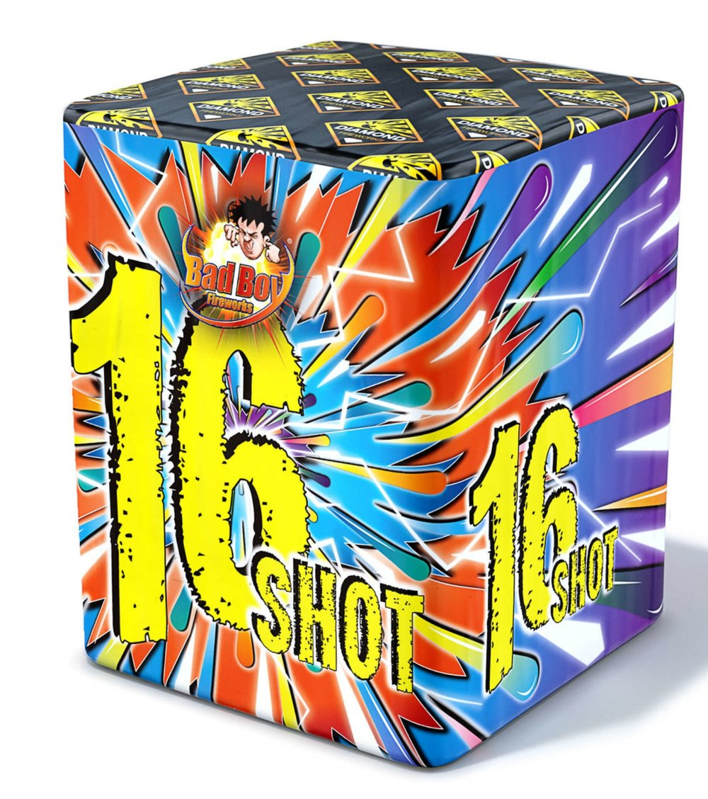 16 Shot Barrage - RRP £13.00