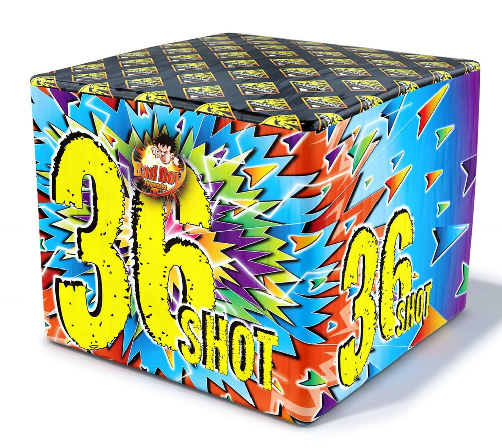 36 Shot Barrage 1.3G - RRP £36.00