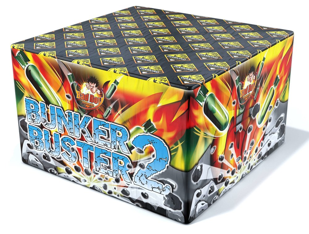 Bunker Buster 2 121 Shot - RRP £199.99