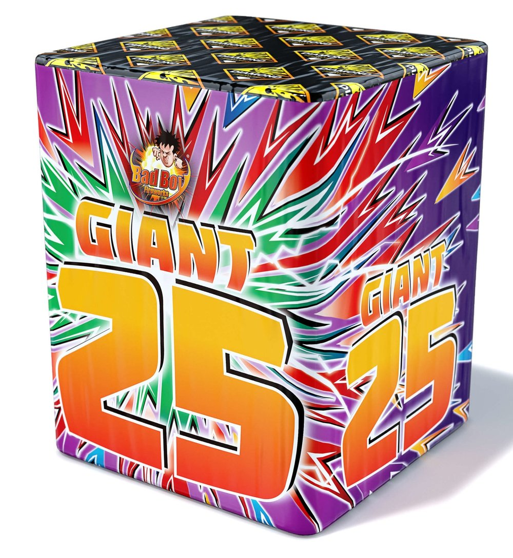 Giant 25 Shot 1.3G - RRP £65.00