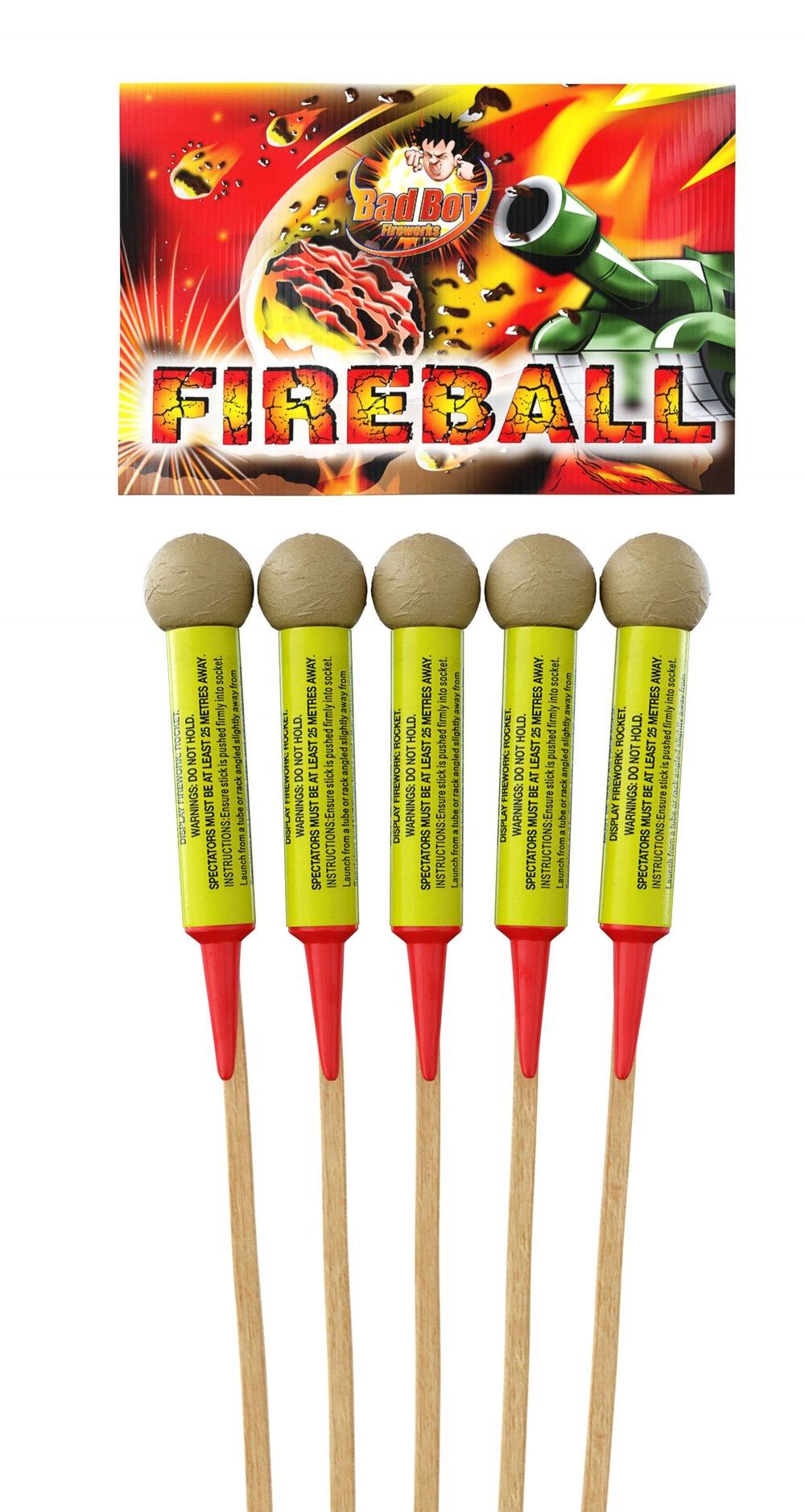 Fireball 5pk Rockets - RRP £39.99