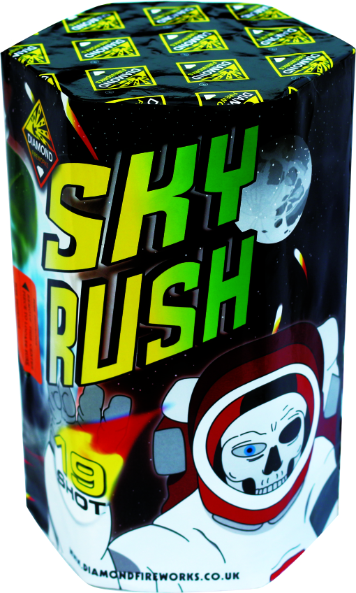 Skyrush 19 Shot 1.3G - RRP £59.99