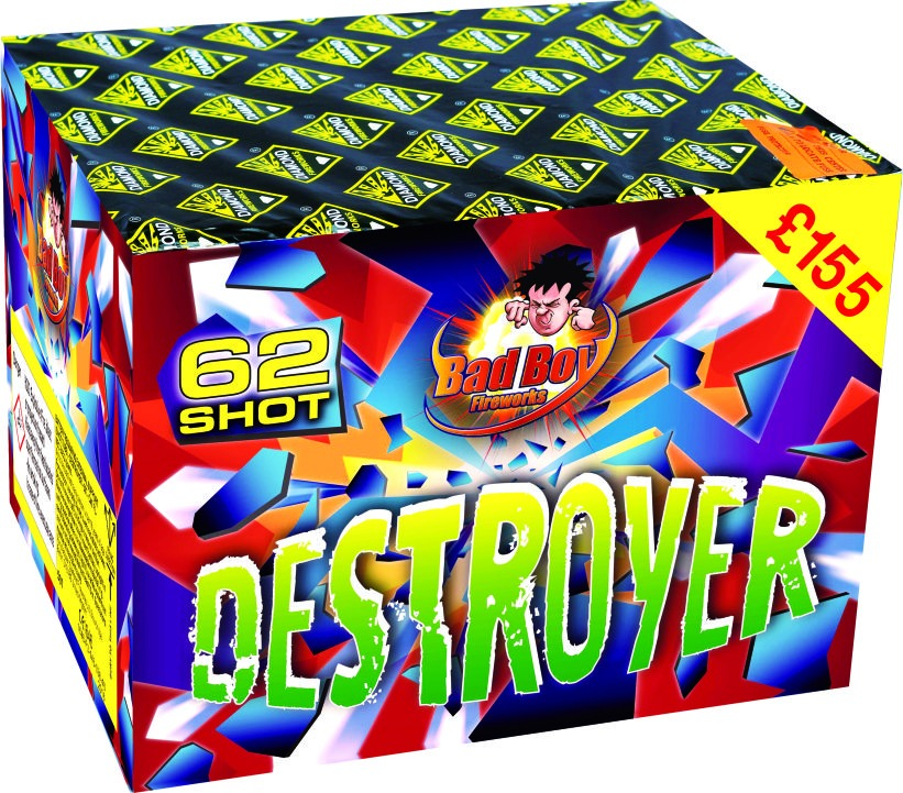 Destroyer 62 Shot Barrage - RRP £155