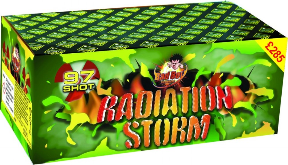Radiation Storm 97 Shot Barrage - RRP £285