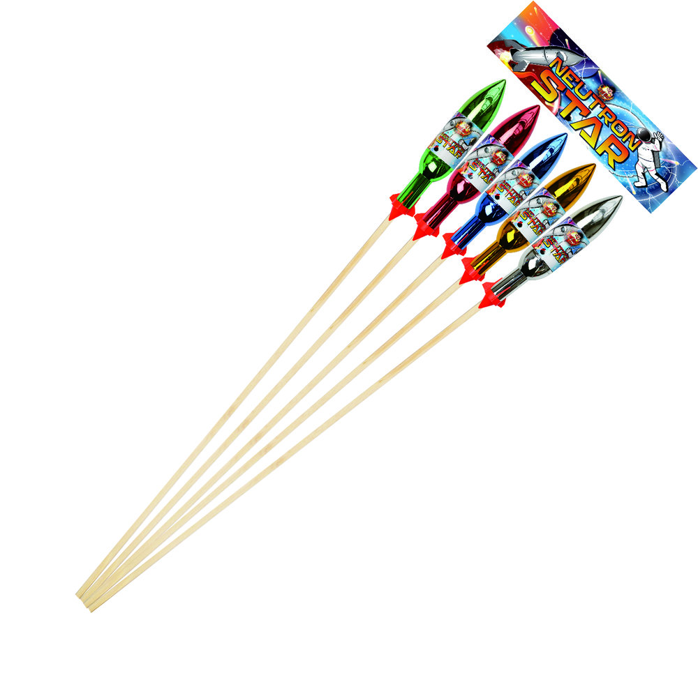Neutron Star Rockets 5pk- RRP £175.00