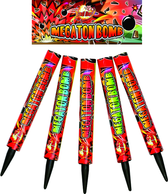 Megaton bombs 5 pack - RRP £19.99