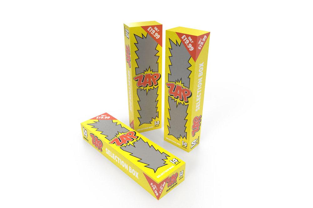 ZAP SELECTION BOX - 14 FIREWORKS - RRP £19.99