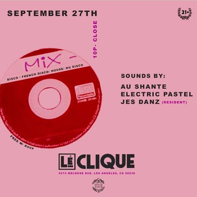 Spinning at @lecliquela with @jesdanz and @shantelovin. @pourvousla