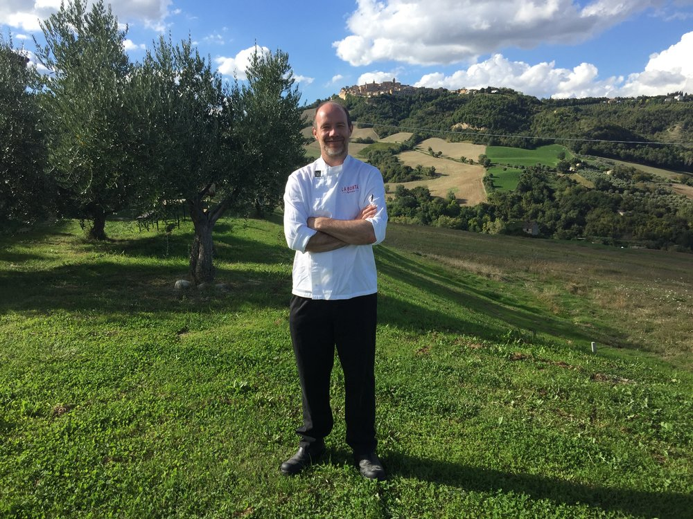 Chef Tim in Le Marche
