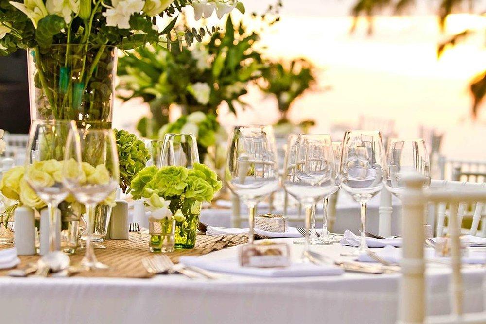 Renaissance Phuket Resort and Spa Wedding Reception