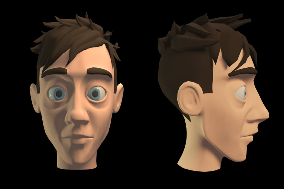 Built the head now, here's how it looks. Moving onto the body.