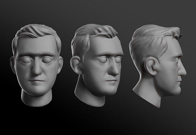Sculpting progression. Uploading a time-lapse soon. #zbrush #zbrushcentral #zbrushart #zbrushtuts #zbrushtutorial #3d #3dart #cgi #cgarts #zbrushmodeling #zbrushsculpting #zsculpt #characterdesign #avatar #digitalsculpt #pixologic #sculptris #3dsculpt #digitalart #conceptart