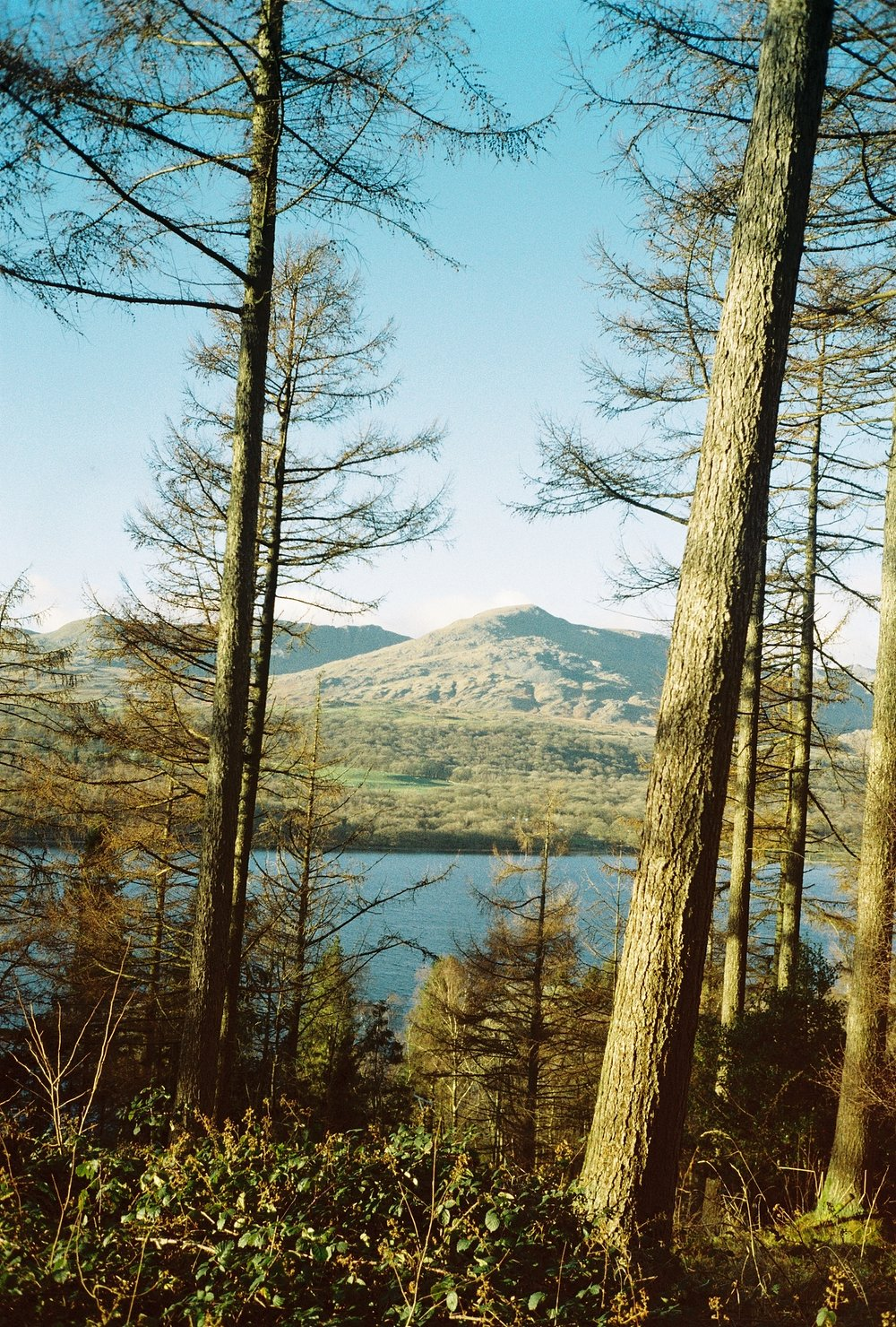 The view of Coniston