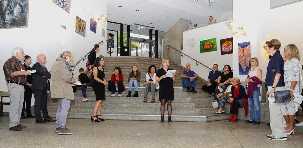 Ausstellung im Rathaus Wiesloch vom 17.09. - 20.10.2018.