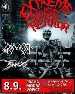 Next show is in Prague, CZ on 8/9, the first of a 4 date tour hitting up Czech Republic, Slovakia and Hungary.