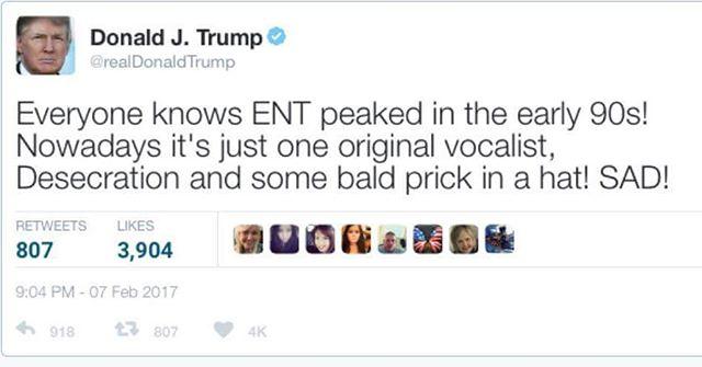 Too far? #trump #extremenoiseterror