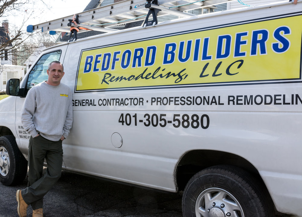Bob Bedford, Owner of Bedford Builders Remodeling LLC.