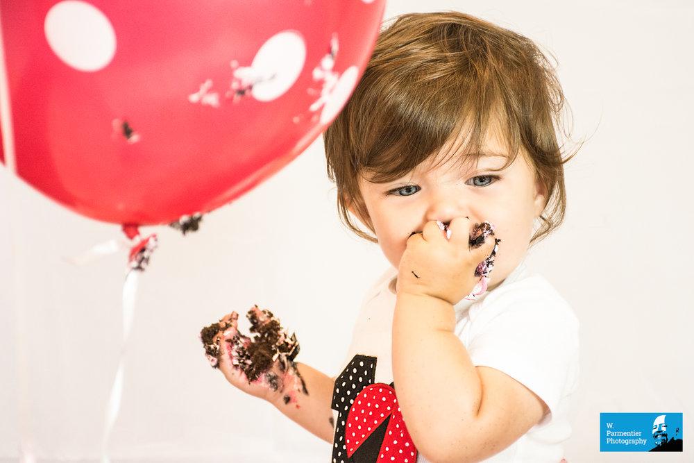 Grace - Cake Smash 3