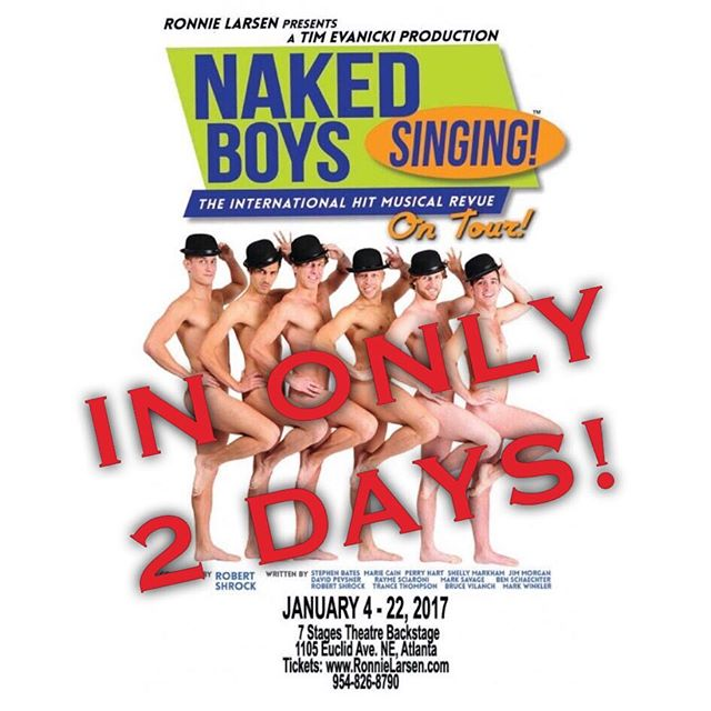 The Naked Boys are coming to Atlanta in ONLY 2 days! Get your tickets to see the boys do their thing at the 7 Stages Theatre! #nakedboyssinging #nakedboyssingingtour #nakedboyssingingshow #nakedboyssingingatlanta #atlanta #atl #atown #nbstour https://www.eventbrite.com/e/naked-boys-singing-atlanta-tickets-27784284543