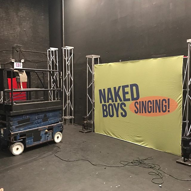 Time to move in to 7 Stages in #Atlanta! Performances start TOMORROW! Get your tickets NOW! #nakedboyssinging #nakedboyssingingatl #atl #nakedboyssingingatlanta #nbstour #tourlife #newyear https://www.eventbrite.com/e/naked-boys-singing-atlanta-tickets-27784284543