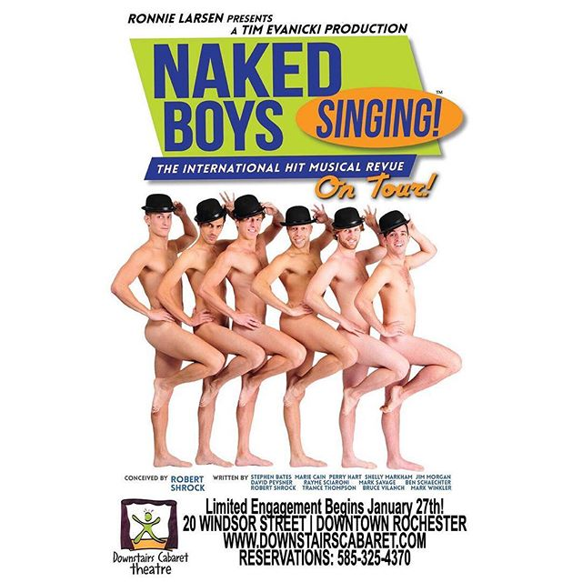 Have you heard? The Naked Boys are now going to Rochester, New York! Tag anyone you know that lives in that area and tell them that the Naked Boys are coming! #nakedboyssinging #Rochester #nakedboyssingingrochester #nakedboyssingingshow #nakedboyssingingtour #nbstour #newyork