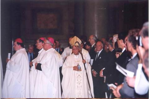 Bishop D. Teodoro de Faria of Funchal, Madeira was the Main Celebrant of the Mass.