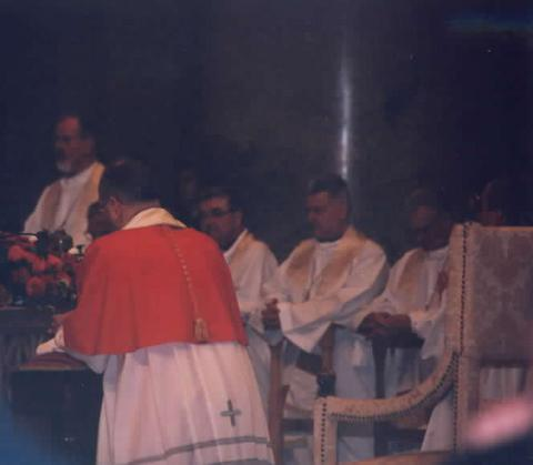 Archbishop Peter Cardinal Erdo of Esztergom-Budapest.