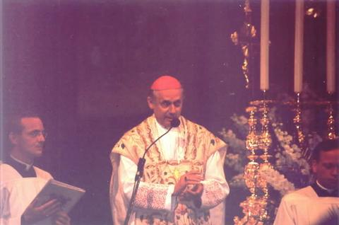 Bishop Egon Kapellari of Graz-Seckau was the Main Celebrant for the Mass of Thanksgiving at Santa Maria Maggiore.