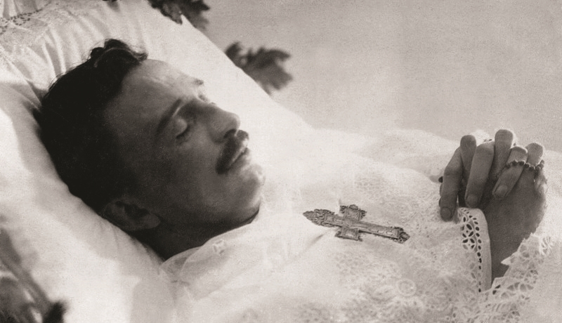 The Emperor Shortly After His Last Breath, April 1, 1922