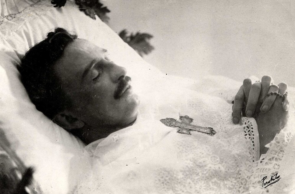 Emperor Karl Shortly After Death on April 1, 1922