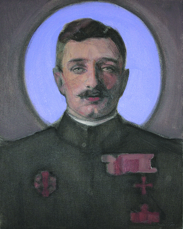 Blessed Karl of Austria  by Janet McKenzie