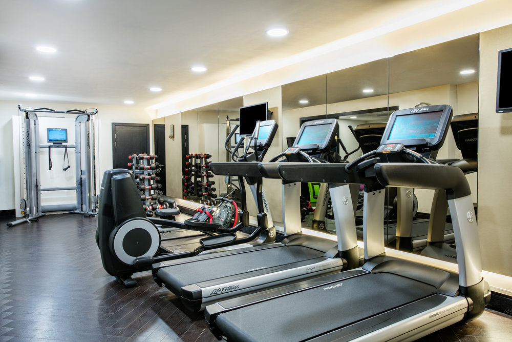 health and fitness: state of the art life fitness gym equipment