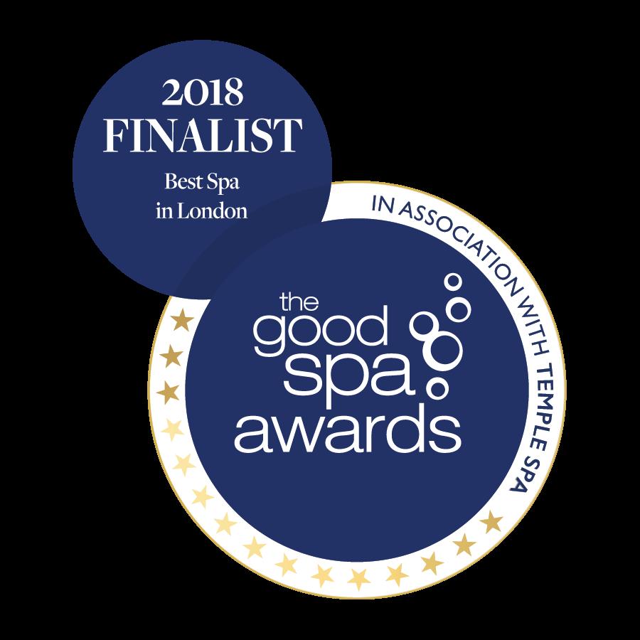 Finalist Best Spa in london 2018 awards