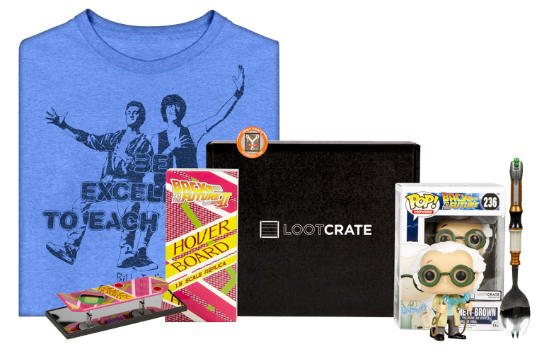 Loot Crate Time Travel crate