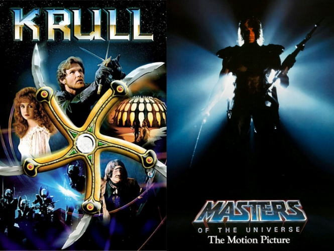 Krull (1983) & Masters of the Universe (1987)