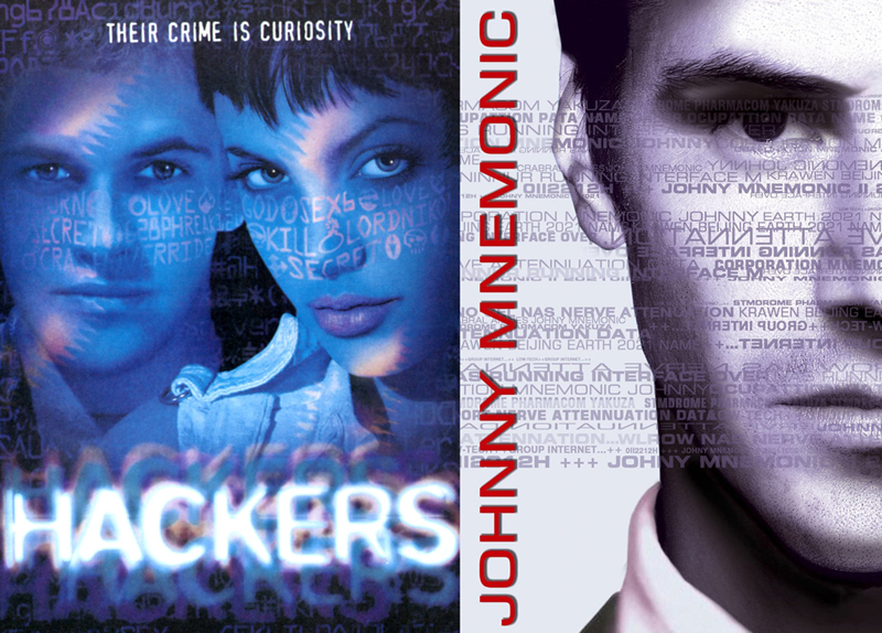 Hackers (1995) Johnny Mnemonic (1995)
