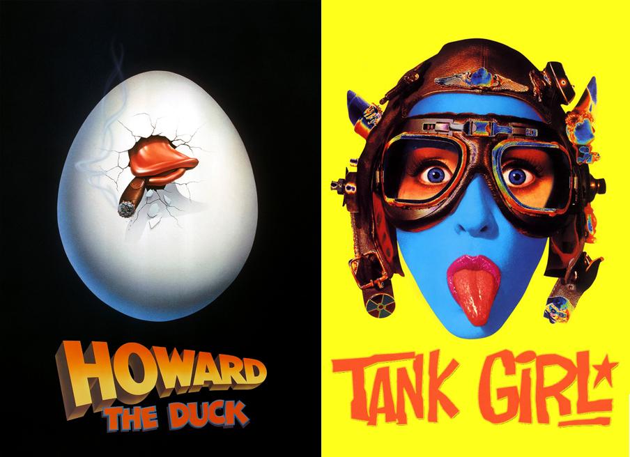 Howard the Duck & Tank Girl